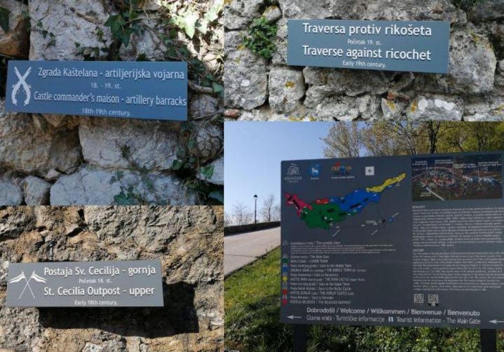 Nova turistička signalizacija na kninskoj tvrđavi