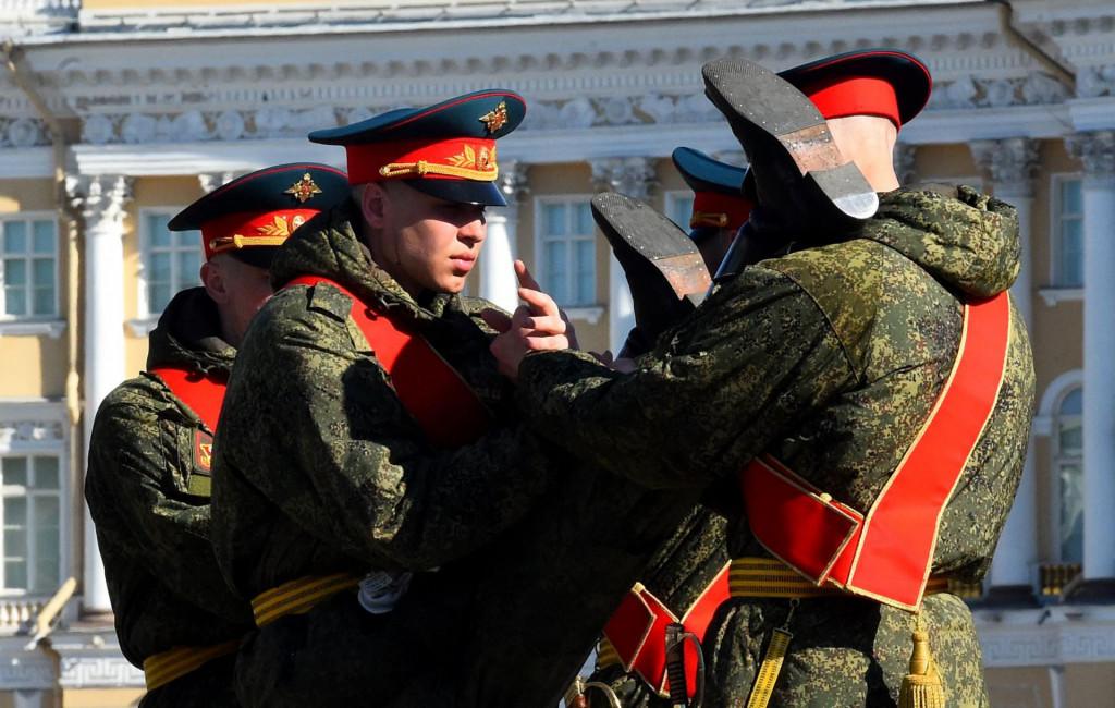 Ruska vojska na vojnim vježbama