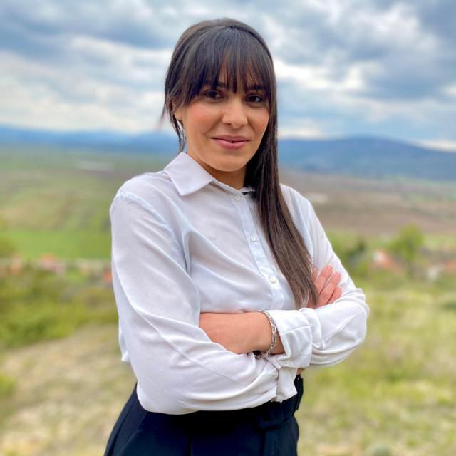 Anđelka Tomić, kandidatkinja Nezavisne liste mladih za gradonačelnicu Drniša