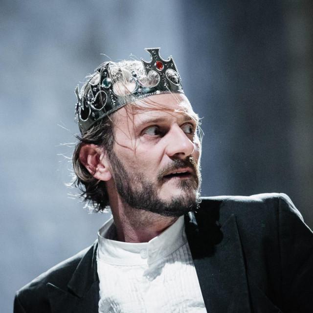 Dubrovački glumac Frano Mašković u ulozi danskog kraljevića Hamleta