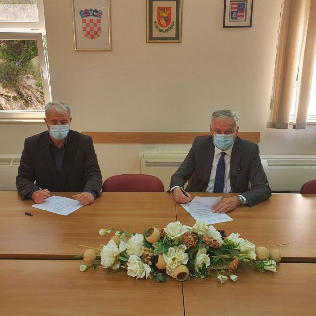 Silvio Nardelli i Nikola Dobroslavić