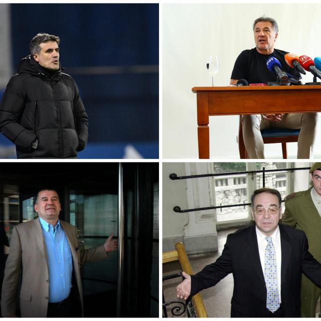 Zoran i Zdravko Mamić, Miroslav Kutle i Josip Gucić