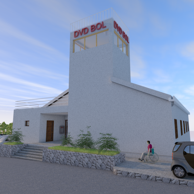 Pogled na budući izgled vatrogasnog doma u Bolu 'FOR-ING'