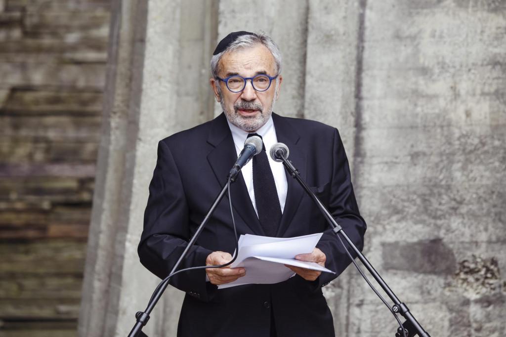 Na fotografiji: Ognjen Kraus, predsjednik Koordinacije židovskih općina u RH