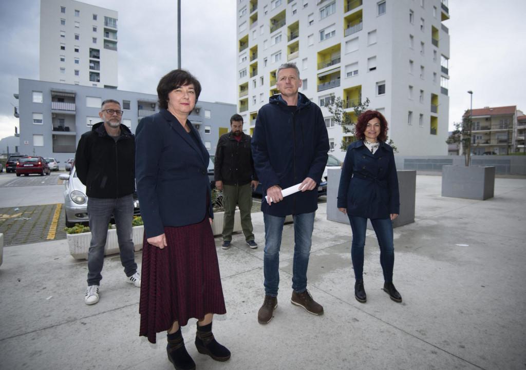 Tamara Visković, Jakov Prkić i Kristina Vidan