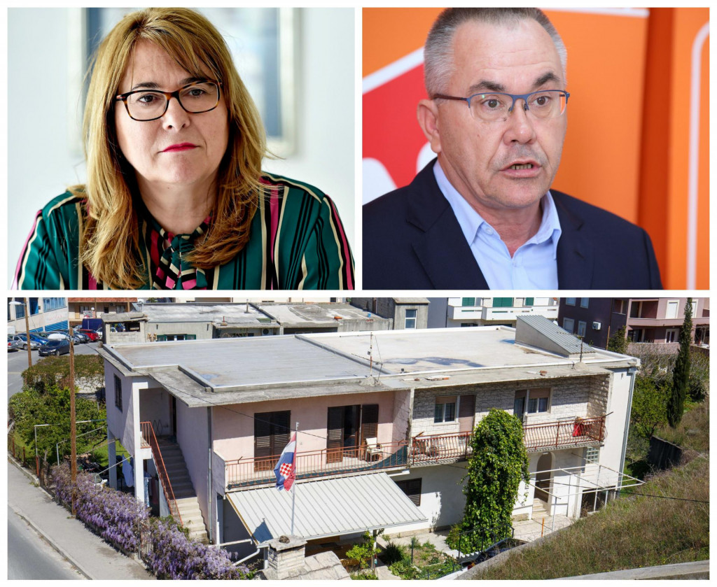 Dr. Željka Karin i Klement Bašić