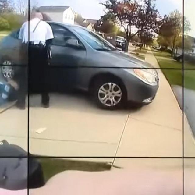 Snimka policijske pucnjave na 16-godišnjakinju