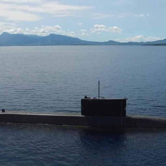 Ilustracija, podmornica indonezijske mornarice I