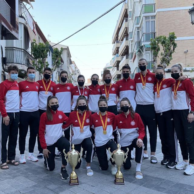 Članovi splitskog Marjana u Španjolskoj