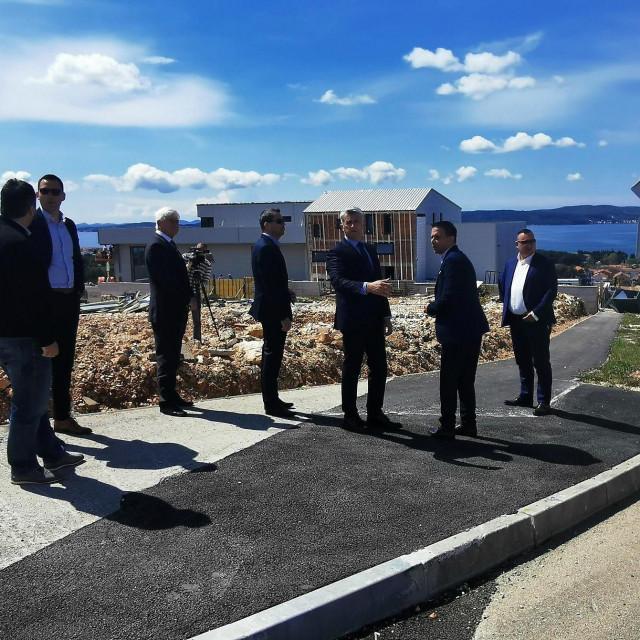 Župan Božidar Longin sa suradnicima posjetio Općinu Bibinje