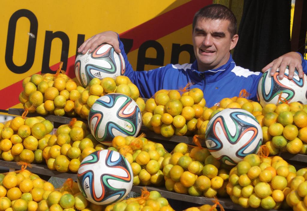 Goran Proleta, trener nogometaša Neretvanca iz Opuzena