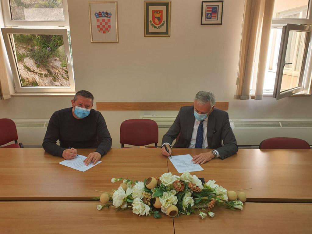Đuro Lonza i Nikola Dobroslavić