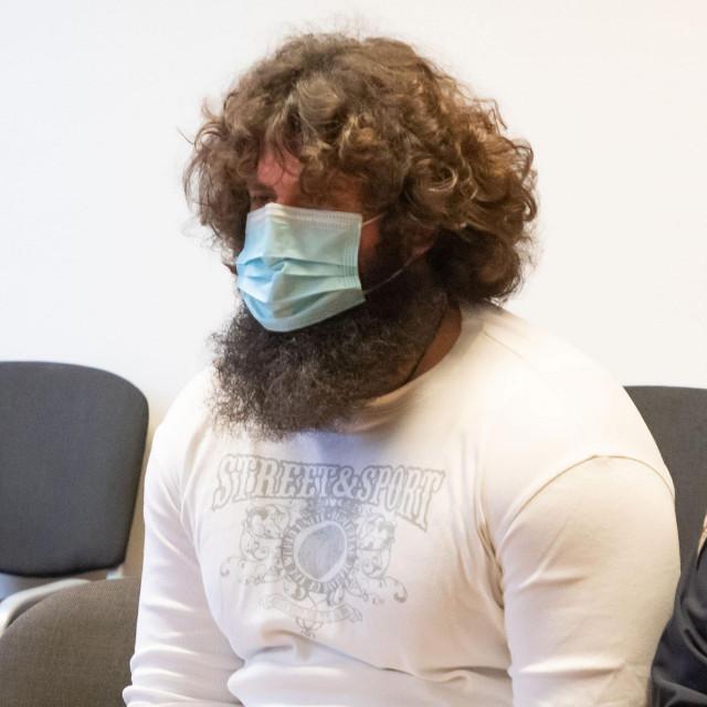 Željko Melvan u sudnici