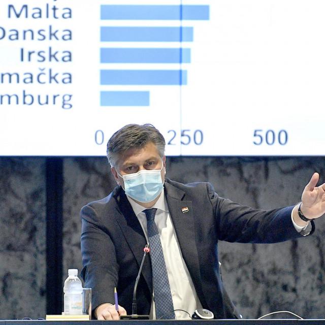 Premijer Andrej Plenković<br />
