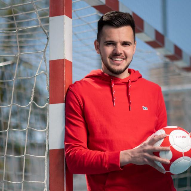 Jozo Barać je organizator Malonogometne lige Zadarskog sveučilišta<br />