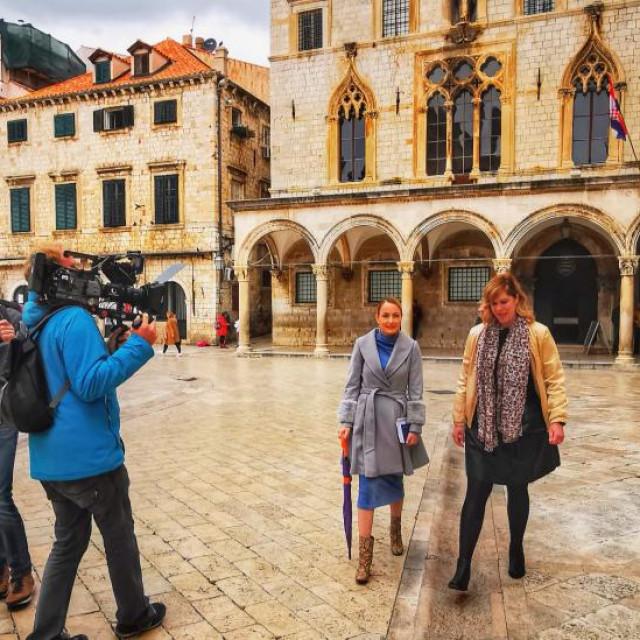 Njemačka televizija SWR snima emisiju o Dubrovniku