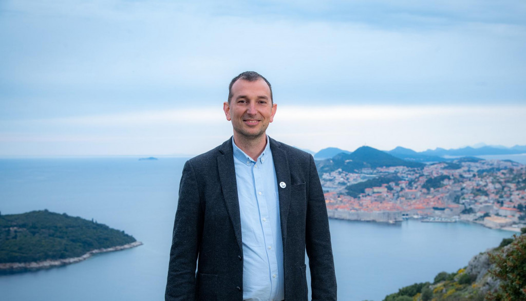 Đuro Capor, kandidat stranke Srđ je Grad za gradonačelnika, lokalni izbori 2021.