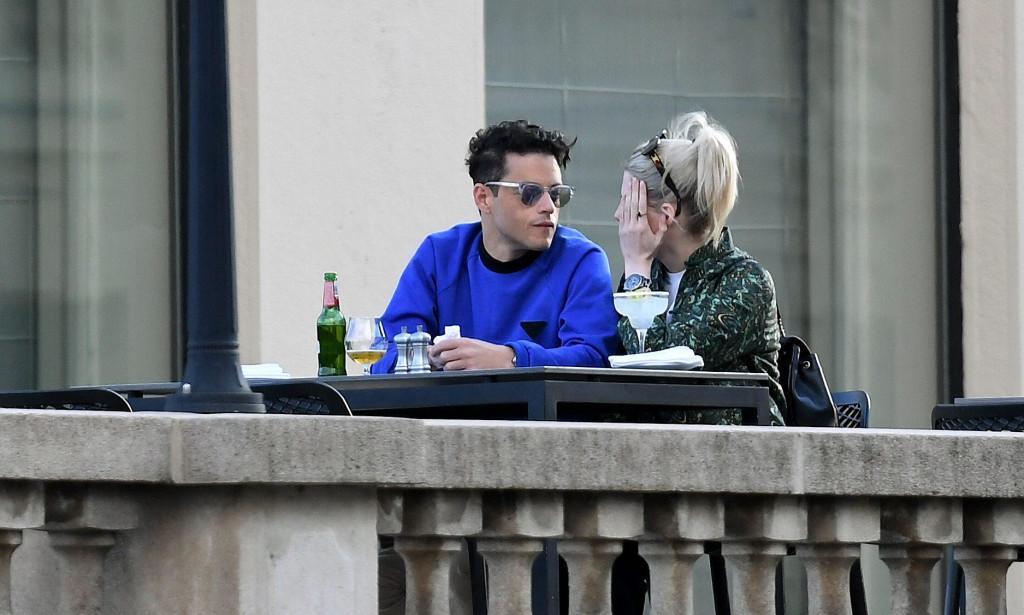 Američki glumac Rami Malek na terasi hotela Esplanade uživa u društvu djevojke Lucy Boynton