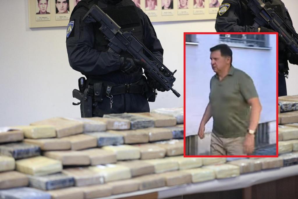 Slobodan Kašćelan, šef ove ozloglašene kriminalne organizacije i kokain vrijedan 57 milijuna eura pronađen na području Dubrovačko - neretvanske županije