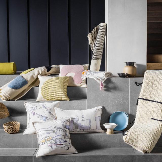 Jastuci, košare, prostirke, keramika iz kolekcije 'Lokalt'