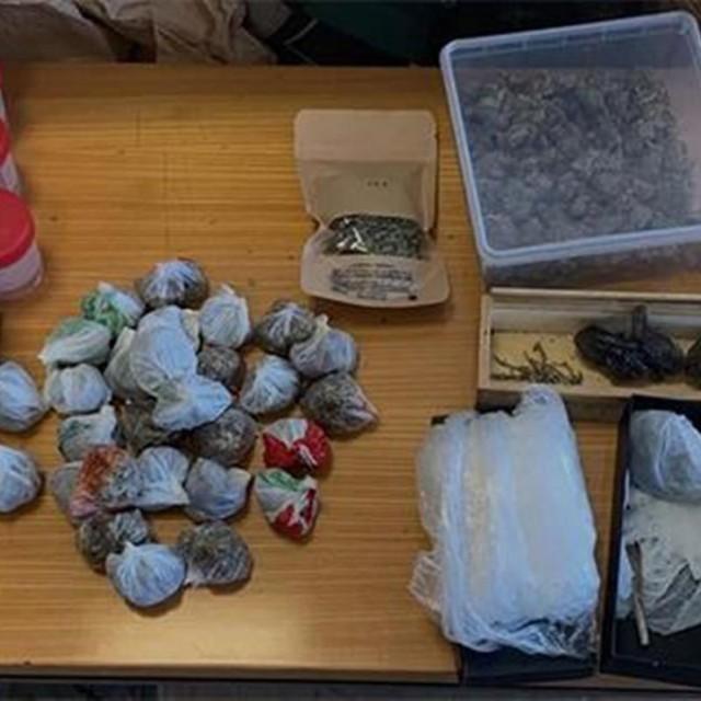 Kod mladog Korčulanina pronađena veća količina droge