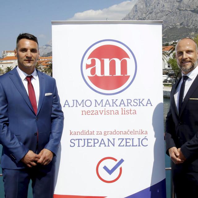 Predstavnici liste Ajmo Makarska