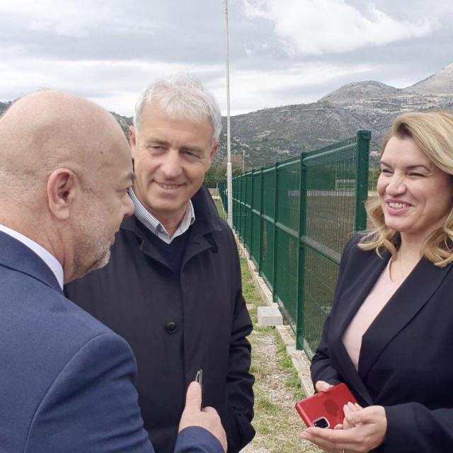 Ministrica Nikolina Brnjac u Župi dubrovačkoj