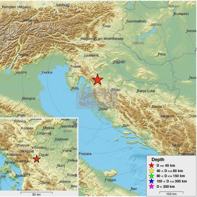 Novi potres Hrvatsku je zatresao u petak