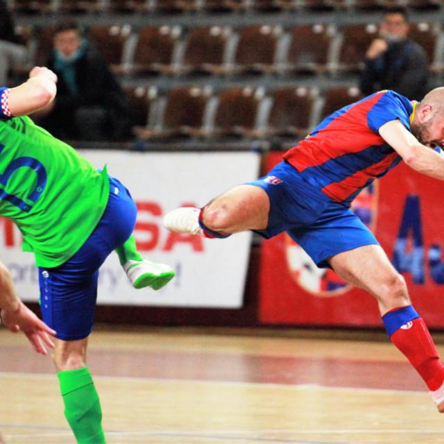 Druga utakmica četvrtfinala doigravanja za prvaka Hrvatske: Square - Olmissum