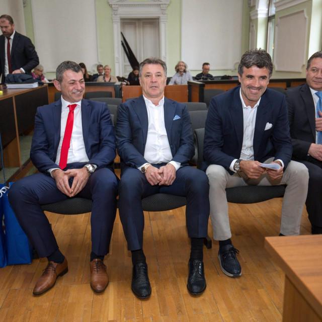 Braća Mamić u sudnici