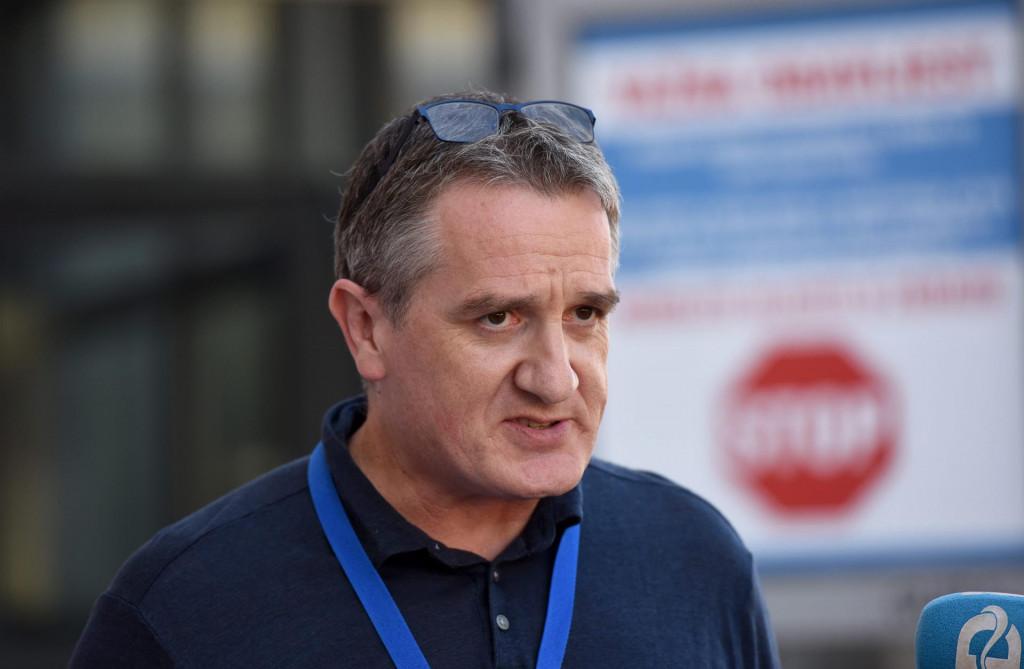 Edi Karuc, zamjenik ravnatelja Opće bolnice<br />