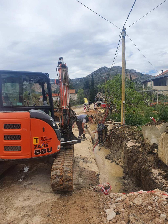 Rekonstrukcija ceste u Mandaljeni