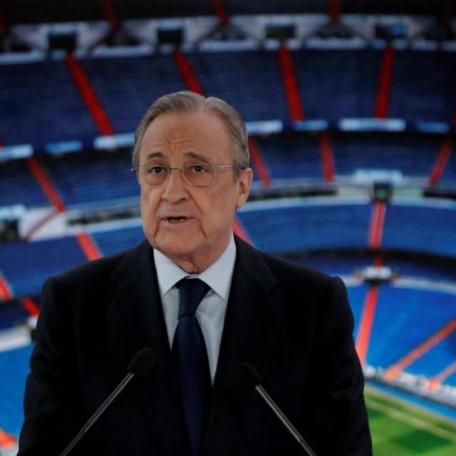 Predsjednik Reala i nove Superlige Florentino Perez