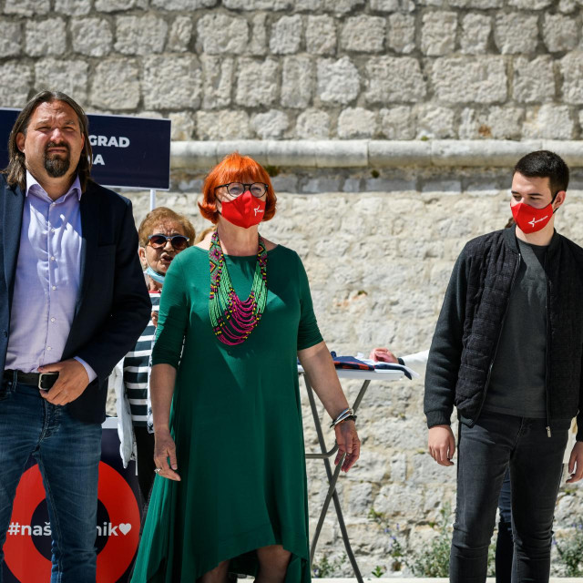 Tonči Restović, Rada Borić i Ivan Slavica