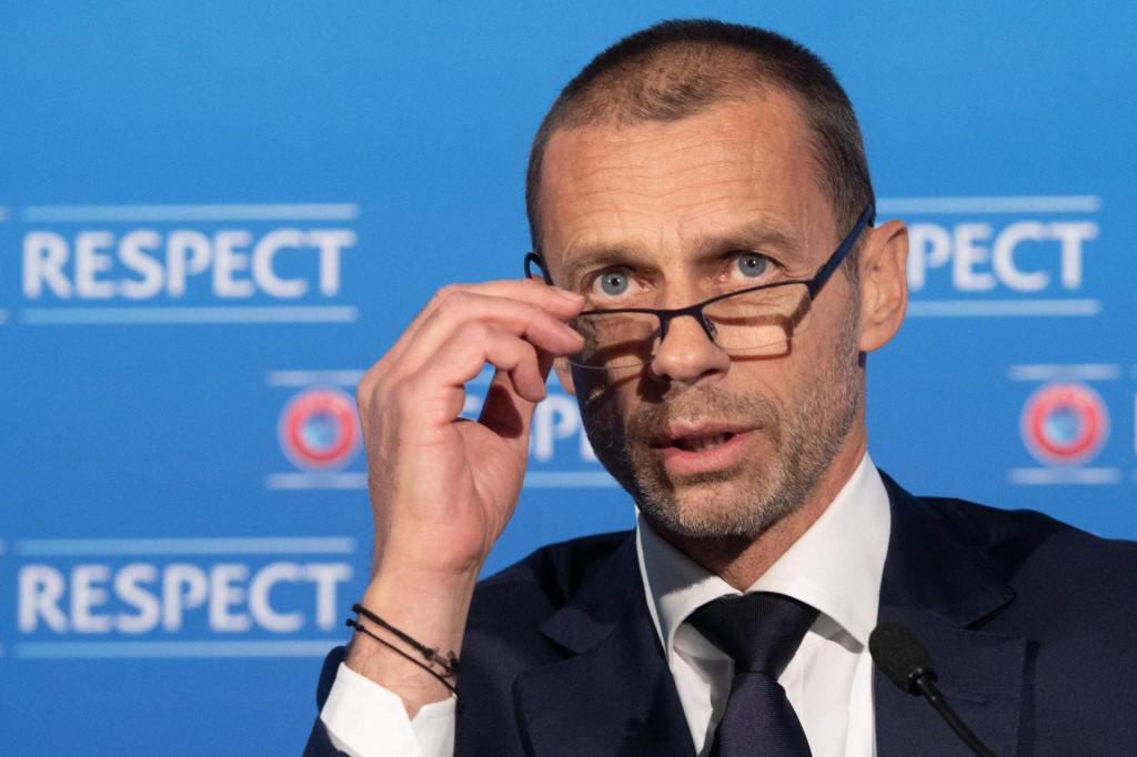 """Reče Čeferin: """"Pohlepa je tako jaka, sve ljudske vrijednosti isparavaju."""" Je, isparile su i u FIFA-i i UEFA-i. Odavno<br />"""