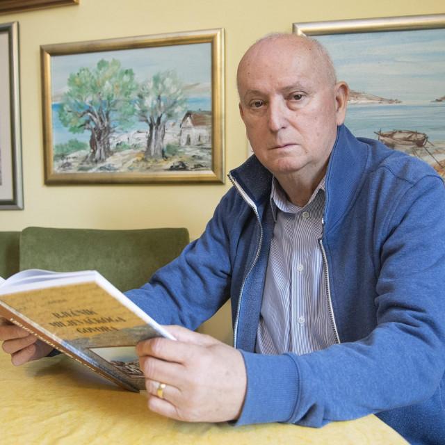 Josip Pilić, umirovljeni profesor hrvatskoga jezika i književnosti