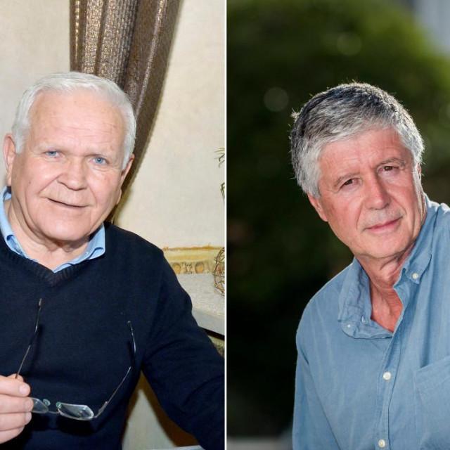 Umirovljeni profesor Petar Gardijan i šibenski arhitekt Tomislav Krajina