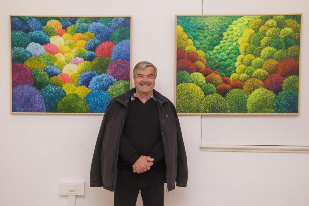 Izložba Vedrana Grabovca u prizemlju Narodne knjižnice