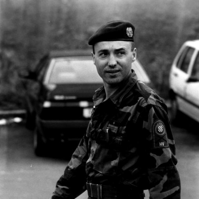 Damir Krstičević snimljen u ratno doba<br /> TOM DUBRAVEC/CROPIX