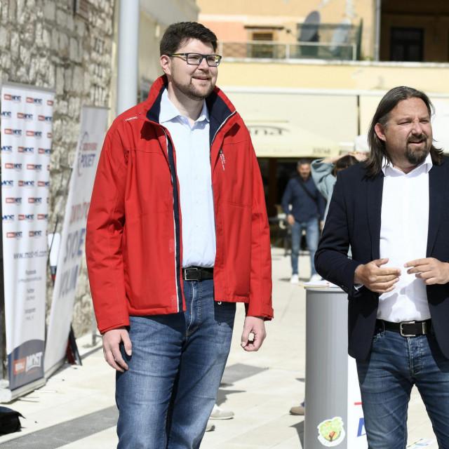 Peđa Grbin i Tonči Restović