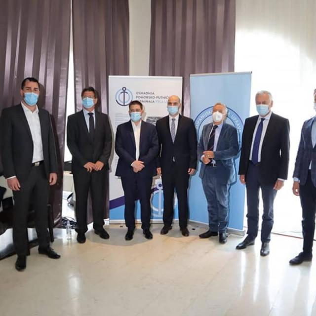 Potpisan ugovor o izvođenju radova na izgradnji Pomorsko-putničkog terminala Vela Luka vrijedan 75 milijuna kuna