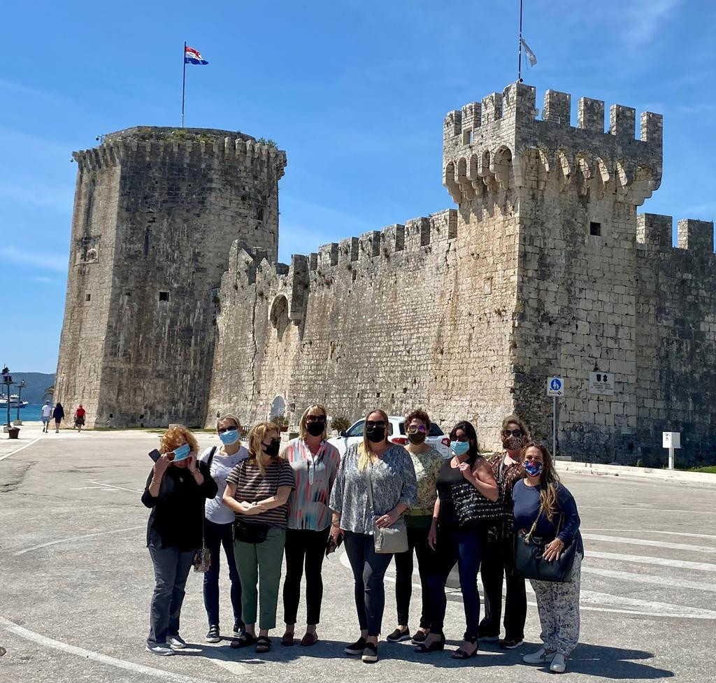 Sudionici prvog organiziranog putovanja turističkih agenata iz Amerike u Europu od pojave pandemije