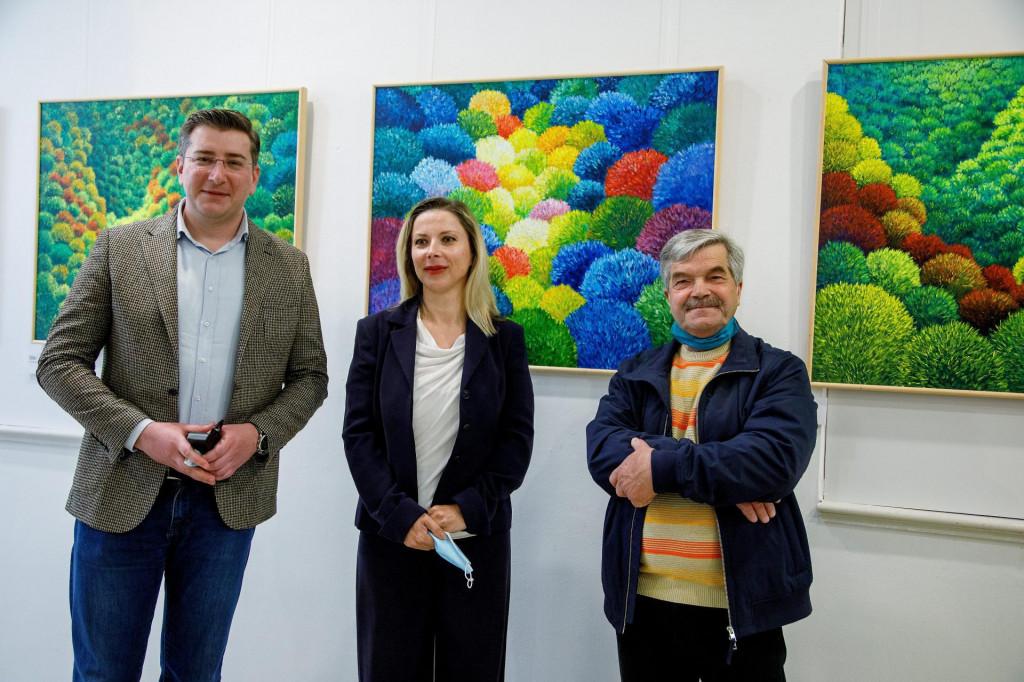 Marin Ivanović, Jelena Bogdanović i Vedran Grabovac