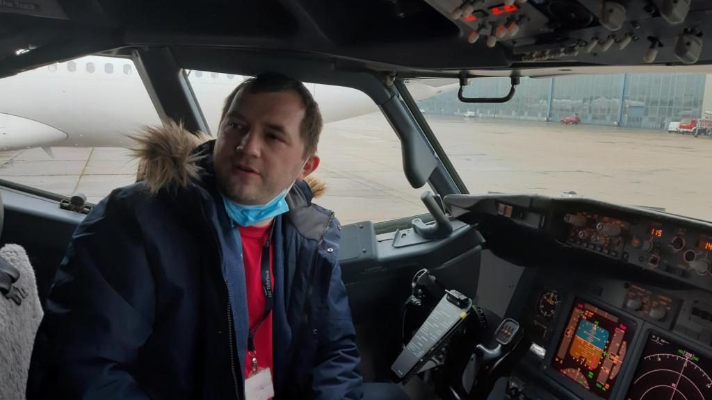 Stjepan Bedić, pilot i direktor nove charter zrakoplovne kompanije ETF Airways