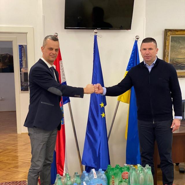 Predstavnik Jamnice Jurica Rajčić i Ivica Pirić