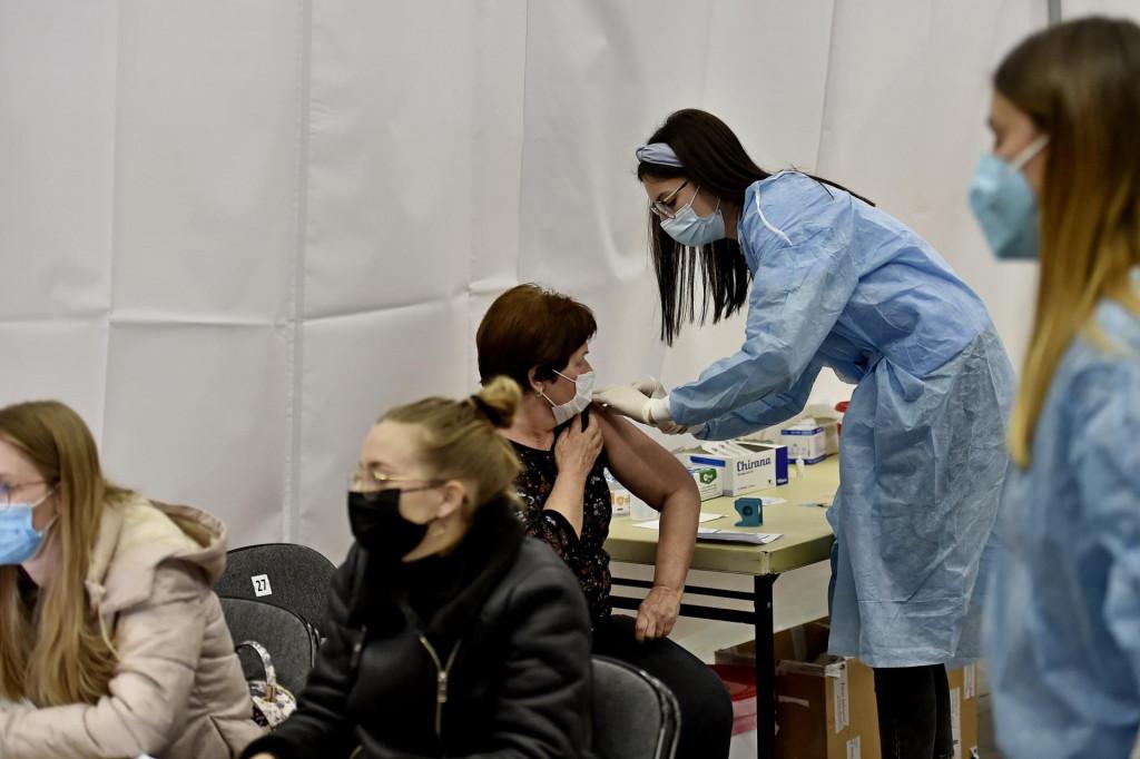 Cijepljenje u Spaladium Areni<br /> <br /> <br />