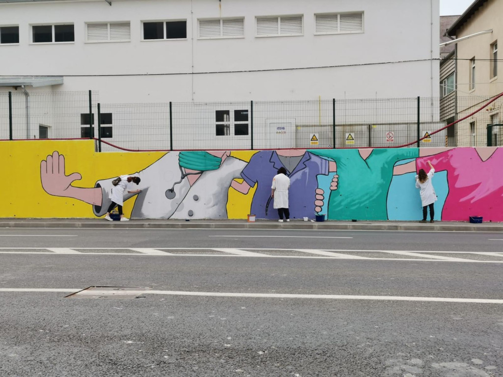 Novi mural u nastajanju