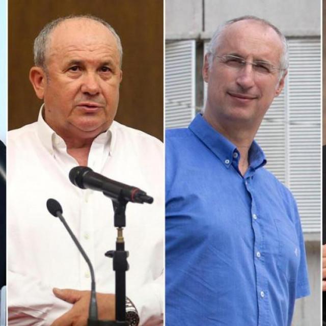 Vice Mihanović, Željko Kerum, Ivica Puljak i Branka Ramljak