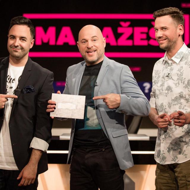 Jan Kerekeš i Luka Vidović su kapetani ekipa, a Rene Bitorajac voditelj showa