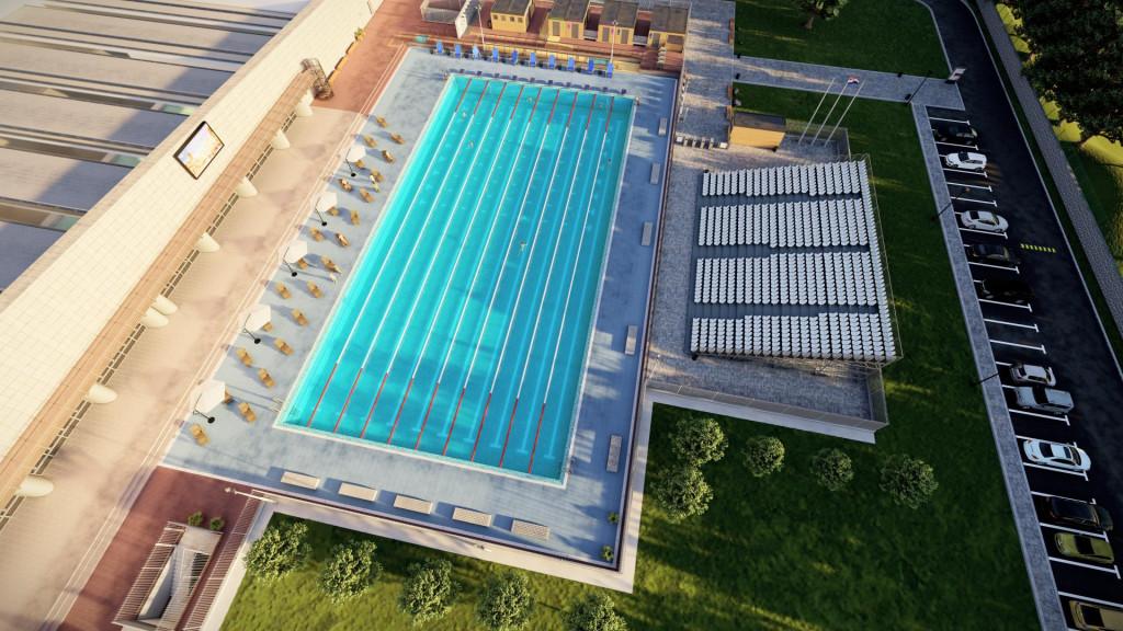 Simulacije bazena na ŠC Višnjik